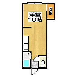 メゾン靜[1階]の間取り