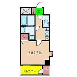 クラウンハイム瑞光フラワーコート[2階]の間取り