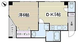 文京ツインタワー[305号室]の間取り