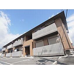 奈良県葛城市忍海の賃貸アパートの外観