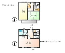 松田コーポ[2階]の間取り