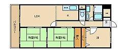 メゾン菱江[7階]の間取り