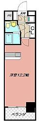 オリエントキャピタルタワー[1101号室]の間取り