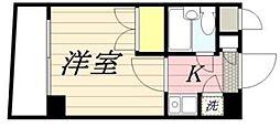 東京都東久留米市東本町4丁目の賃貸マンションの間取り