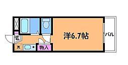 エステージ西調布[3階]の間取り