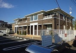 埼玉県新座市馬場1丁目の賃貸アパートの外観