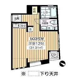 アパートメントエヌワイ[503号室]の間取り
