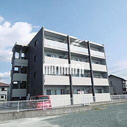 静岡県浜松市浜北区道本の賃貸マンションの外観