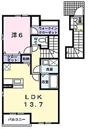 ソレイユ メゾン[2階]の間取り