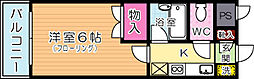 田中第10ハイツ[305号室]の間取り