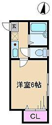 アトリエマイ[2階]の間取り