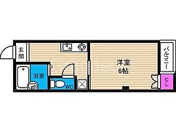 ビルシャナ鶴見[3階]の間取り