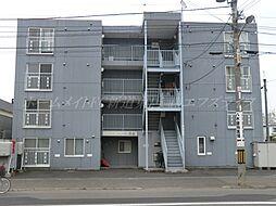 北海道札幌市東区北二十八条東19丁目の賃貸マンションの外観