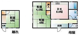 [一戸建] 千葉県千葉市緑区越智町 の賃貸【千葉県 / 千葉市緑区】の間取り