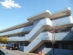 東京都武蔵村山市大南3丁目の賃貸マンションの外観