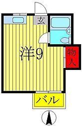 時田ハイツ[2階]の間取り