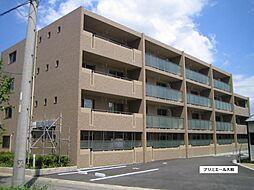 愛知県一宮市大和町毛受字城之腰の賃貸マンションの外観