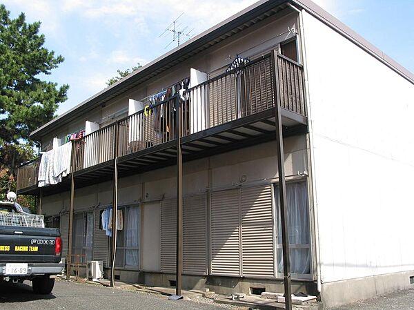第2西川ハイツ[1f号室]の外観