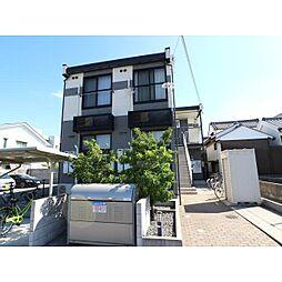 奈良県大和郡山市車町の賃貸アパートの外観
