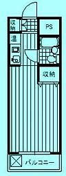 マイキャッスル宮崎台II[1階]の間取り