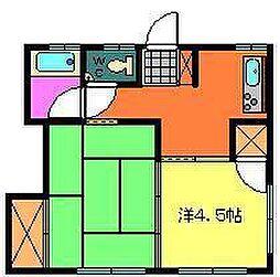 緑ヶ丘マンション[103号室]の間取り