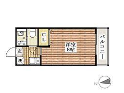 ソレーユ総持寺[5階]の間取り