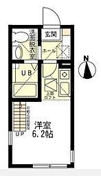 ハーミットクラブハウス桜木町[2階]の間取り