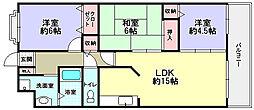 スピカハイム[3階]の間取り