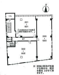 【敷金礼金0円!】長谷部第1ビル503号室