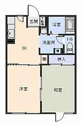 [タウンハウス] 岩手県北上市黒沢尻3丁目 の賃貸【/】の間取り
