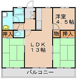S2001K[2階]の間取り