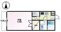 静岡県沼津市西条町の賃貸マンションの間取り