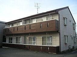 ボナールハウス A棟[1階]の外観
