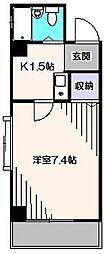 オカダヤIII[3階]の間取り
