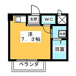 アネックスHASEGAWA[2階]の間取り