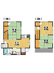[一戸建] 千葉県市川市北方2丁目 の賃貸【/】の間取り