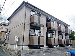 大阪府箕面市新稲5丁目の賃貸アパートの外観