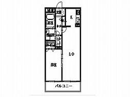シャーメゾンフィオーレ[3階]の間取り