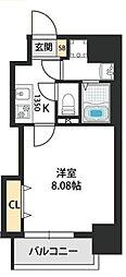 Dwelling ASAHI 9階1Kの間取り