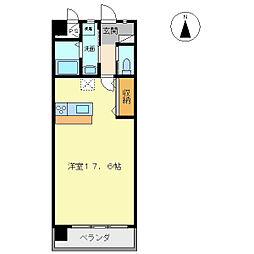 ラ・クルール[2階]の間取り