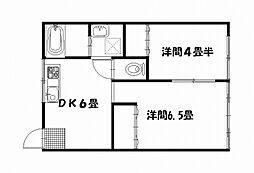 栄田マンション[3002号室]の間取り