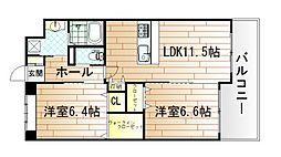 ベルステージ須賀町[4階]の外観