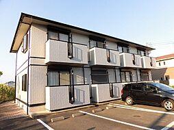 茨城県水戸市見川3丁目の賃貸アパートの外観