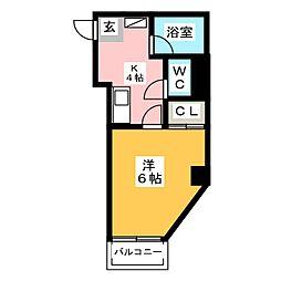 州峰ビル[3階]の間取り