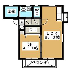 エムティ館[2階]の間取り