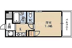 アレイコート[2階]の間取り