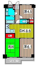 プレステージマンション191[5階]の間取り