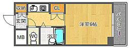 EASYBOX千里山東[302号室]の間取り