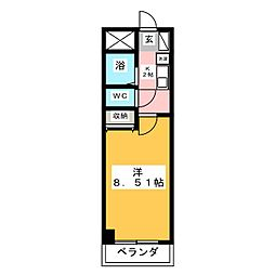 服部園ビル[2階]の間取り