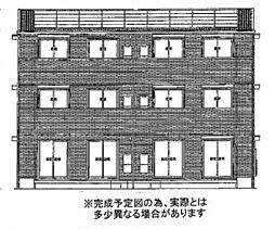 フェリオ小野B棟[1階]の外観
